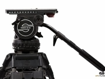 Sachtler Video 20 III Tripod w/Carbon Fiber Sticks