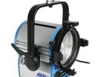 Rent: Arri 2k with Fresnel lens