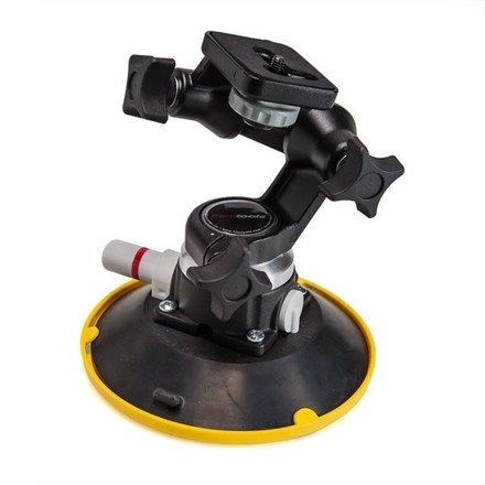 "Gripper 3025 6"" Suction Cup Car Mount w/ Manfrotto Head"