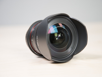 Rent: Rokinon 14mm T3.1 Cine DS Lens for Canon EF Mount