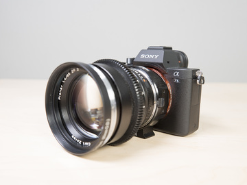 Rent: Sony A7Sii Body with EF Adapter #1