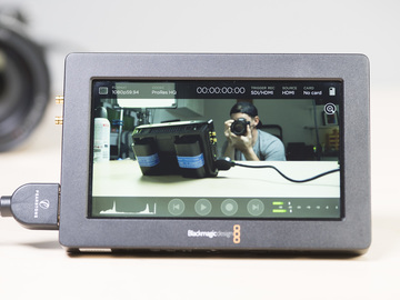 "Rent: Blackmagic Video Assist HDMI SDI Recorder 5"" Monitor #2"