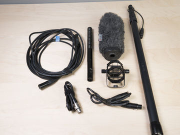 Rent: Sennheiser ME66 Shotgun Mic and Boom Pole