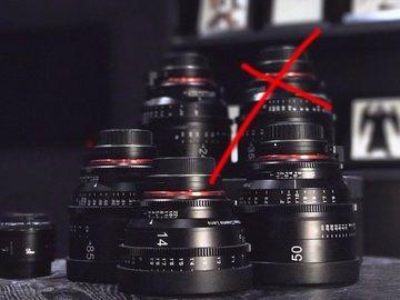 Rent: Rokinon Xeen Cinema EF Series Lens Set - 14, 24,50,85