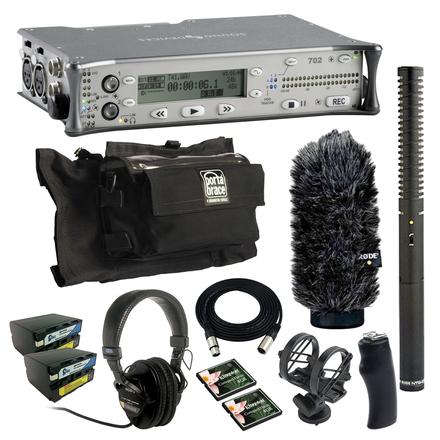 Sound Devices 702 (w/ Batteries, Mic, Case)