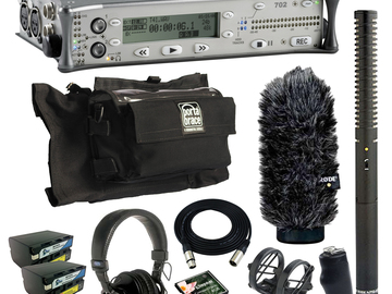 Rent: Sound Devices 702 (w/ Batteries, Mic, Case)