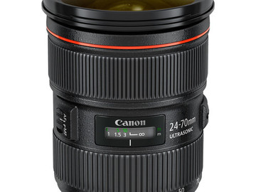 Rent: Canon EF 2.8 24-70