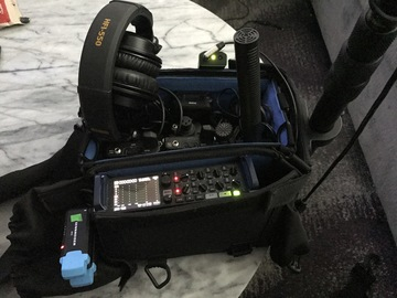 Rent: Zoom F8, Wireless Lav, & Boom Audio Package
