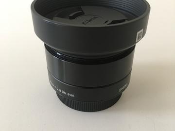 Rent: Sigma 30mm micro 4/3 lens
