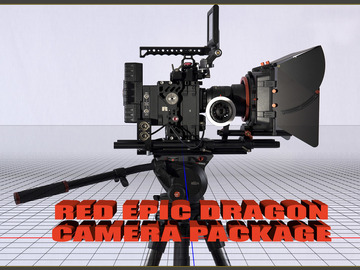 Rent: RED Epic Dragon 6K W/Zeiss ZF.2 Primes Cine Package