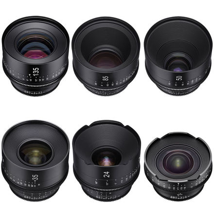 Xeen EF 6 Lens Set Choose 14-16-20-24-35-50-85-135 w/NDs