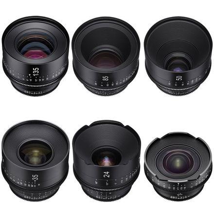 Xeen EF 6 Lens Set Choose 14-16-20-24-35-50-85-135 w/NDs