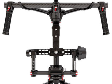 "Rent: DJI Ronin/3 batts/IDX Wireless SDI/Flycam Vest/7"" Monitor"