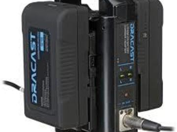 Rent: 2 Dracast V-Mount Batts, and Charger
