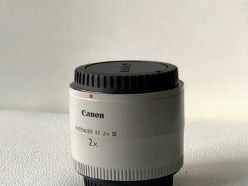 Rent: Canon 2X Extender (EF 2X III)