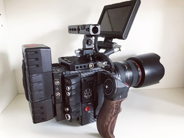 Rent: RED Weapon Helium 8K S35 Pro Package
