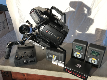 Rent: Blackmagic URSA Mini 4K w/ Accessories