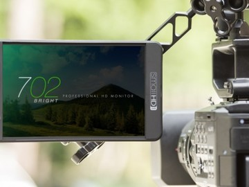 "Small HD 702 7"" Bright Production Monitor w/batt & cables"