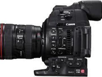 Rent: C100 with 24-105 L series Lens