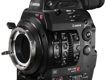 Rent: Canon C300 Mark II PL Mount