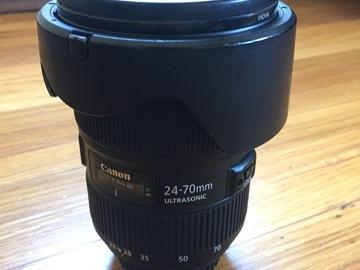 Rent: Canon EF 24-70mm f/2.8 MK II (L)