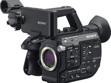 Rent: Sony FS5 Shooter Package (4K/2K, 120/240 fps, Pro Res HQ)