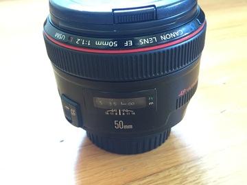 Rent: Canon EF 50mm f/1.2 (L)