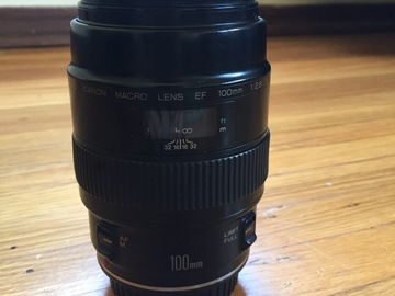 Rent: Canon EF 100mm Macro Lens