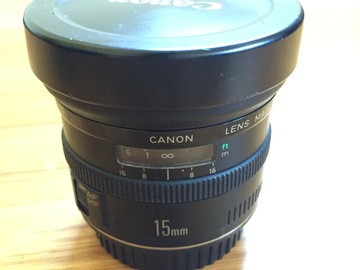 Rent: Canon EF 15mm Fisheye f/2.8