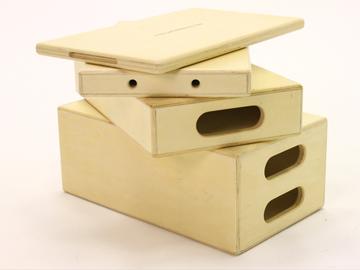 Rent: 2 - Full Apple Box Sets (Full, Half, Quarter, Pancake)