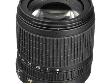 Rent: Nikon 18-105mm 3.5-5.6 VR lens