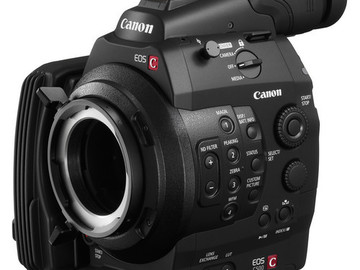 Rent: CANON C500 + ODYSSEY 7Q 4K RAW BUNDLE