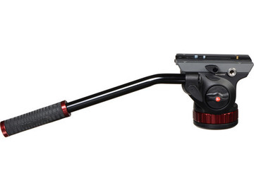 Rent: Manfrotto 3021BN Tripod w/ 502HD Pro Video Head