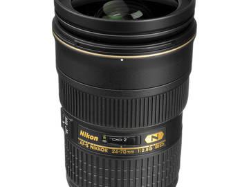 Rent: Nikon AF-S NIKKOR 24-70mm f/2.8G ED Lens