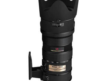 Rent: Nikon Nikkor 70-200mm F/2.8 G ED IF AF-S VR