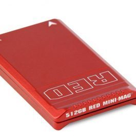RED Mini-Mag 512G red card with reader and USB3 cable