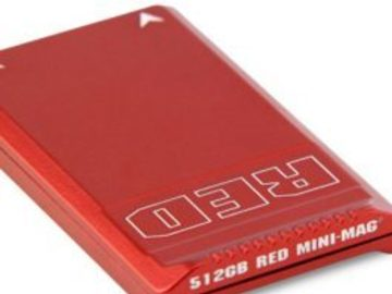 Rent: RED Mini-Mag 512G red card with reader and USB3 cable