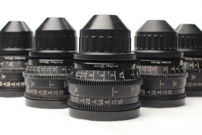 Set of 3 Zeiss Super Speed Mk III Lenses for 35mm format