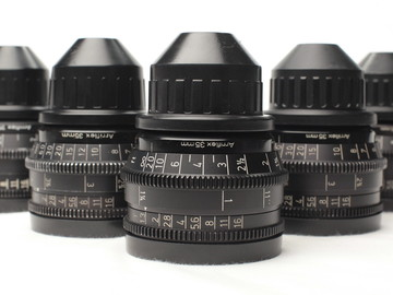 Rent: Set of 5 Zeiss Super Speed Mk III Lenses for 35mm format