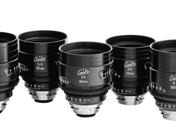Rent: Cooke S4i Lens set of 7 (14, 18, 25, 35, 50, 75, 135mm)