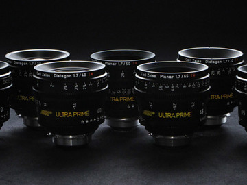 Rent: Zeiss Ultra Prime Kit 12, 14, 16, 24, 32, 50, 85, 100, 180mm