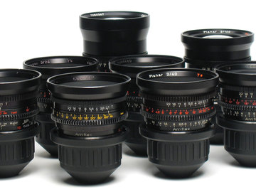 Rent: Set of 8 Zeiss Standard Speed Mk II Lenses PL Mount 35mm