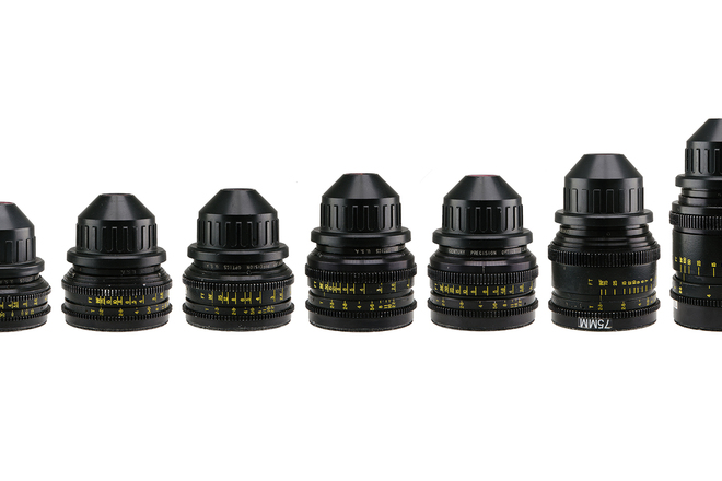 Set of 8 Cooke Speed Panchro S2/3 Lenses PL Mount Vintage