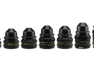 Rent: Set of 8 Cooke Speed Panchro S2/3 Lenses PL Mount Vintage