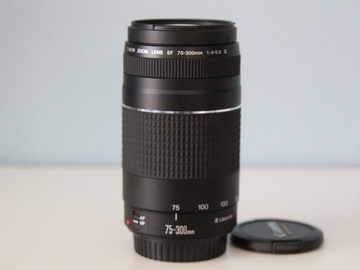 Rent: Canon EF 75-300mm F/4-5.6  III