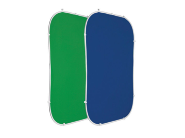 Rent: Photoflex FlexDrop 2 5'x7' Reversible Blue & Green Backdrop