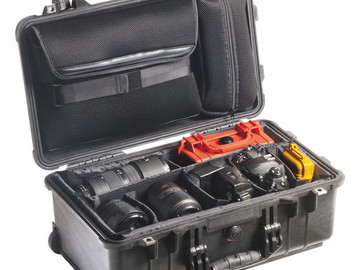 Rent: Pelican 1510SC Studio Case (Black)