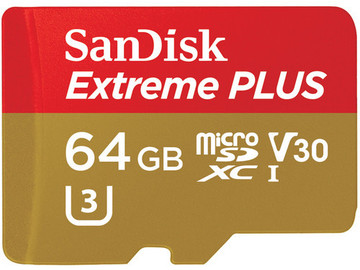 Rent: SanDisk 64GB Extreme Class10 SDXC Memory Cards