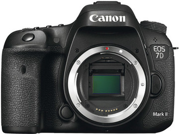 Rent: Canon 7D II Body with Battery Grip and Batteries