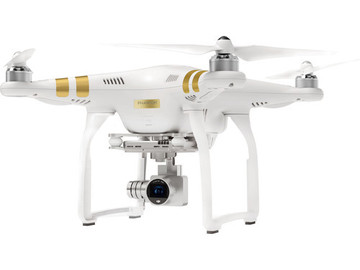 Rent: DJI Phantom 3 Professional w/ Extra Battery and Hard Case